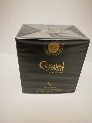 Crystal night impression off Versace Crystal Noir Eau De perfum Versace 3.0 oz