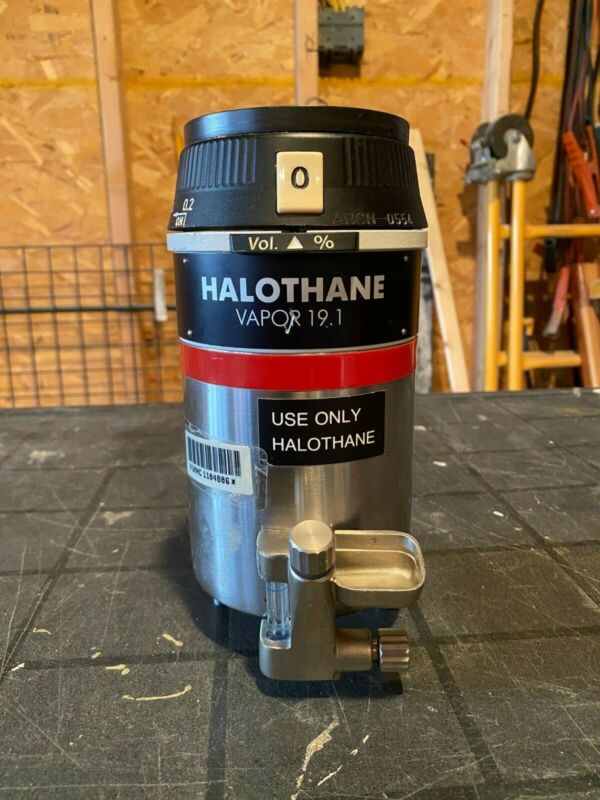 Drager werk 19.1 Halothane Anesthesia Vaporizer. Open to offers
