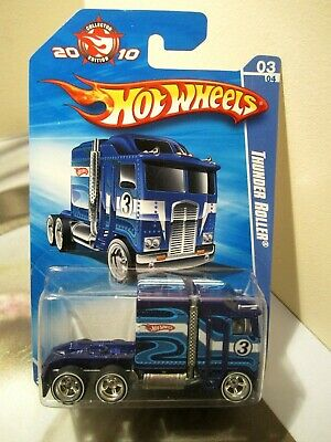 Hot Wheels 1:64 Exclusive Mail in 2010 Collector Edition Thunder Roller Kenworth
