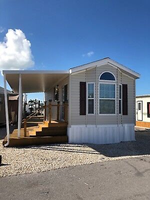 Brand New manufactured housing Marathon Florida Keys waterfront dock included