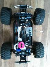 RC NITRO powered 4x4 vehicle Bucasia Mackay City Preview