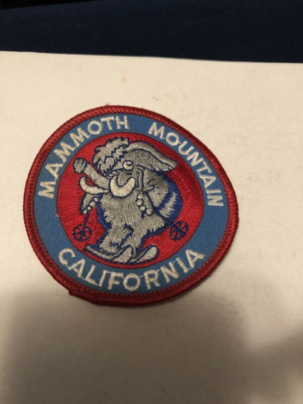 Mammoth Mountain California Vintage Patch