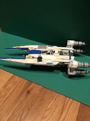 LEGO Star Wars 75155 Rebel U-Wing Fighter w/ One Mini Figure Pilot