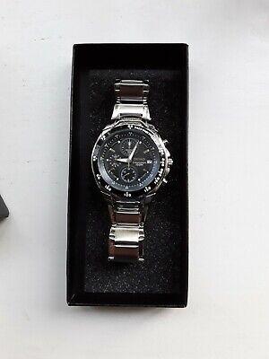 Mens seiko chronograph watch used