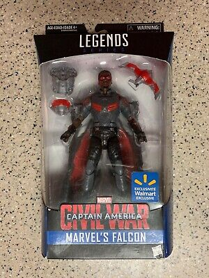Marvel legends Falcon Wal Mart exclusive MIB