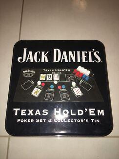 Jack Daniel's Texas Hold'em Poker Set