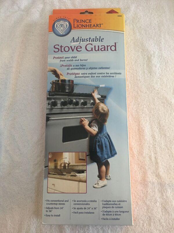 Prince Lionheart Shield-A-Burn Adjustable Stovetop Oven Stove Guard 0089 NEW