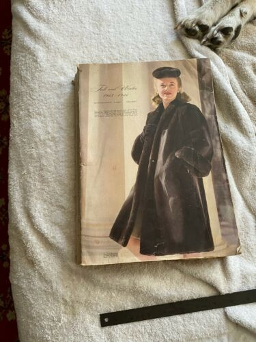 Montgomery Wards Fall Winter Catalog 1943 1944 Chicago