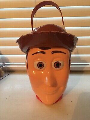 Best Priced Halloween Costumes (Disney Toy Story Woody Character Plastic Bucket. Halloween Bag. Best)