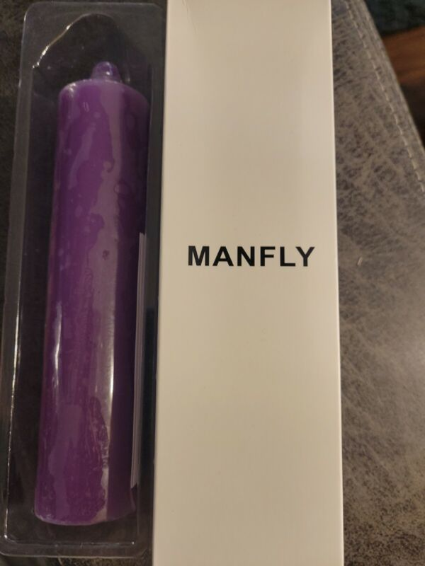 Upgraded MANFLY Low Temperature Candles Low Heat Romantic Candles Wax for Cou...