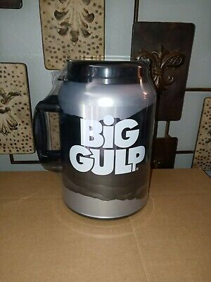 7-11 7 Eleven Big Gulp Whirley 100 oz Insulated Cup Mug with Straw NEW & SEALED