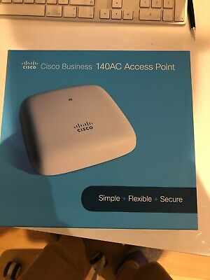 Cisco Business 140AC - Wi-Fi - Dual Band Radio Access Point -...