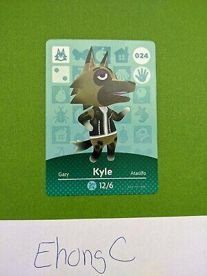 Kyle Animal Crossing amiibo Card - Series 1 - (NA Version)