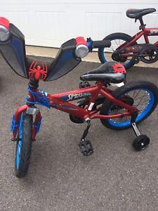 16 inch Boys Spider-Man Bike