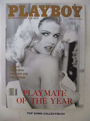 Playboy Magazine   June 1993    Anna Nicole Smith Poty