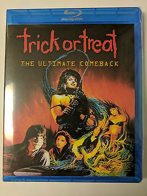 Trick or Treat The Ultimate Comback 1986 Blu-Ray Ozzy Osbourne Gene Simmons Rare