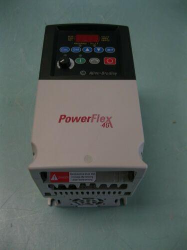 Allen-Bradley 22B-D6P0N104 Ser A Powerflex 40 3HP 480V Drive G8 (2934)