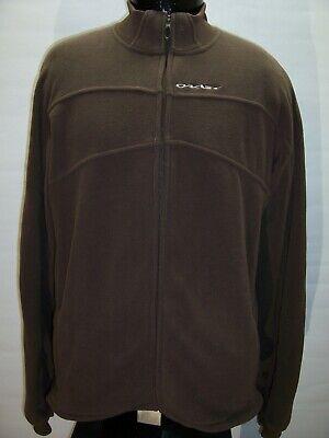 OAKLEY Large L Fleece Jacket Combine ship Discounts Discount Fleece Jackets