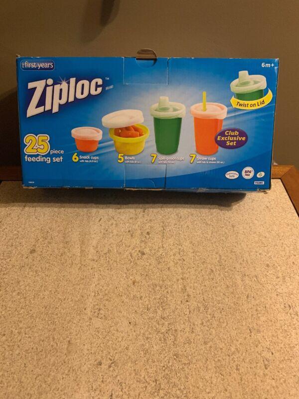 Ziploc 25 piece Feeding Set