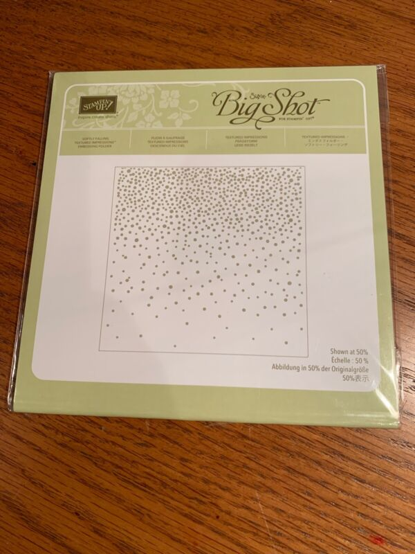 Stampin Up! Softly falling Embossing Folder *Retired*