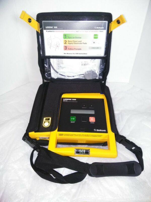 Physio Control LifePak 500-  Battery  Included No Pads Included