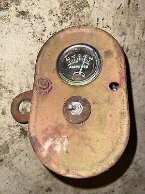 Farmall B Amp Switch Box Used Original Antique Tractor