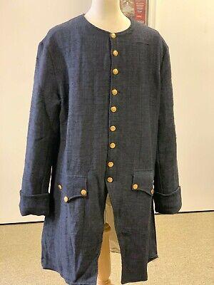 Man's Dark Blue Jean Frock Coat 54
