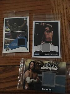 Wwe authentic wrestling cards Roman Reigns, Rey Mysterio