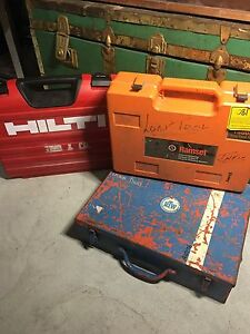 Miscellaneous tools lot - Hilti Ramset Willagee Melville Area Preview