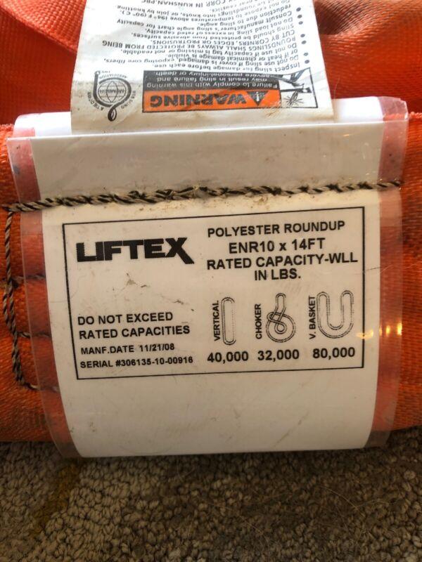 ENR 10x14' LIFTEX Endless Sling Used