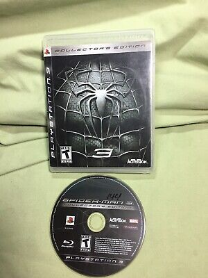Spider-Man 3 Collector's Edition PS3 (Sony PlayStation 3, 2007) Tested