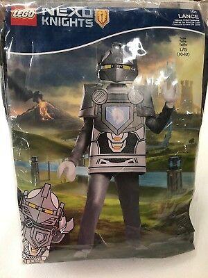 Lego Boys Youth Lance Deluxe Nexo Knights Costume, Large,10-12