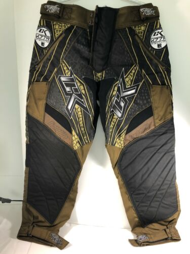 CONTRACT KILLER CK FIGHTLIFE Paintball Pants - Brown - discontinued Rare- Medium