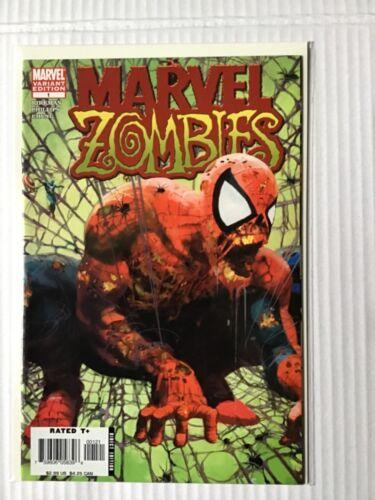 MARVEL ZOMBIES # 1 SECOND PRINT RARE SPIDER-MAN COVER MARVEL COMICS