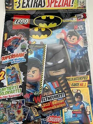 Lego Batman Magazin Nr 3 - Superman + Booster + Le3