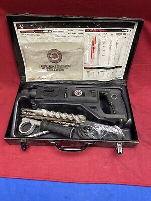 Black And Decker Industrial Sds Rotary Hammer Drill 5057 Dewalt Steel Case