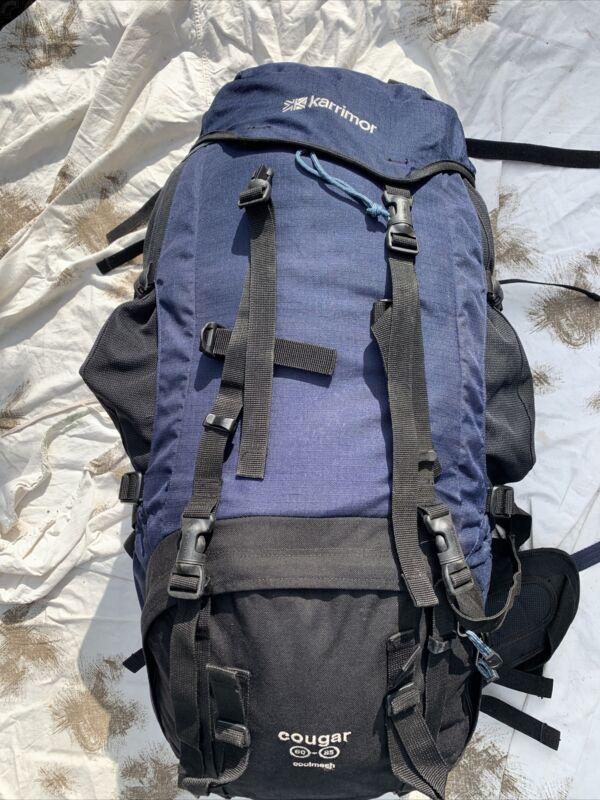 Karrimor SF Cougar SA Back 60-85 Litre Backpack DofE Rucksack Blue Missing Clip
