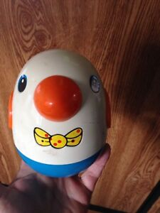 Baby toy chime Bird Roly Poly Weeble Wobble