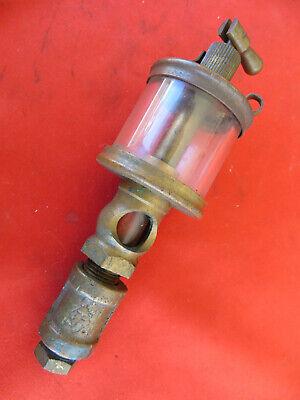 Vintage Lunkenheimer No. 1 Fig 1300 Sentinel Brass Oiler Hit Miss Engines 1624