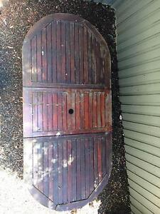 Hardwood Garden Table and 8 chairs North Turramurra Ku-ring-gai Area Preview