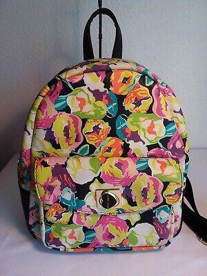 BETSEY JOHNSON Multi FLORAL PRINT Mini Backpack and BJ Wallet Multi Mini Backpack