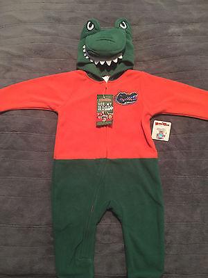Florida Gators Sleeper Halloween Costume Infant Mascot Wear - Florida Gator Toddler Halloween Costume