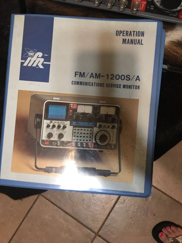IFR 1200 Super S (1200S) Communication Service Monitor