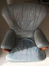 Italian leather chair Balga Stirling Area Preview