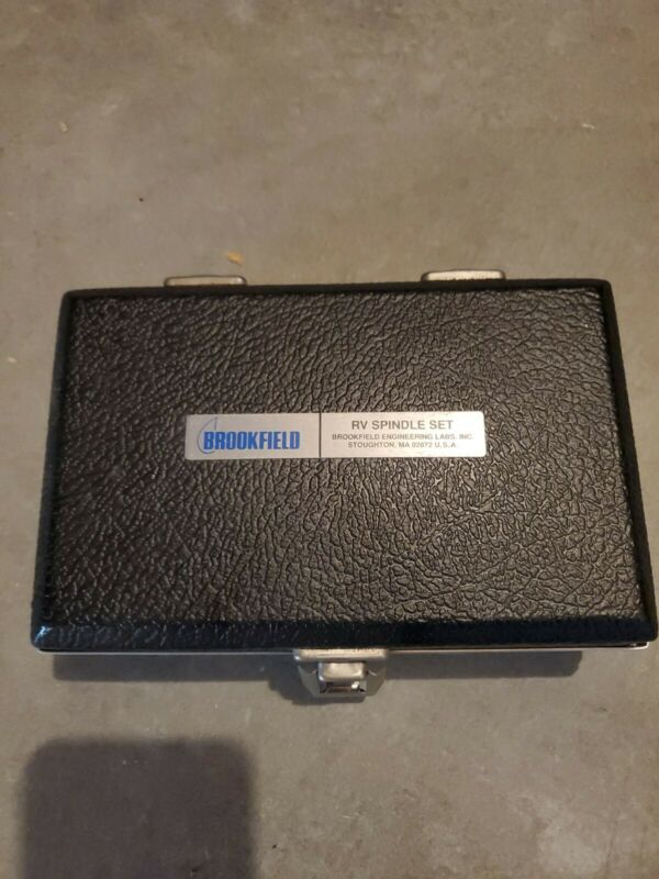 BROOKFIELD VISCOMETER SSR HA HB RV COMPLETE SPINDLE SET #1 - #7 SPINDLE