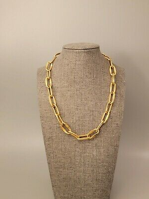 Signed GIVENCHY Vintage Necklace Gold Tone