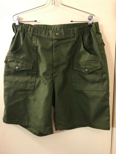 BSA BOY SCOUTS OF AMERICA Snap Cargo Pockets Uniform Shorts Men