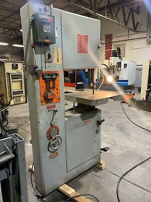 20 Powermatic Vertical Band Saw -see Video- Model 87 Doall Dake