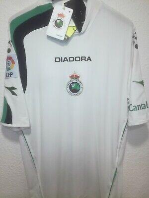 RACING SANTANDER 2005-2006 BNWT camiseta shirt trikot maillot maglia diadora