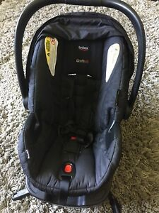 Britax B-Safe 35 with car adapter